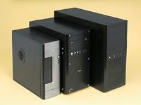 aac8ed28eb ATXケースにはアビー「AS Enclosure M4」を、microATXミニタワーにはソルダム「ALCADIA ZR1000」を、スリムタワーにはオウルテック「OWL-PCBM-01(B)/300II」を使用  ...